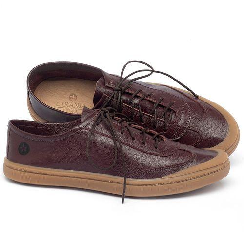 Laranja_Lima_Shoes_Sapatos_Masculinos_Tenis_Masculino_Cano_Baixo_em_Couro_Marrom_-_Codigo_-_141177_1