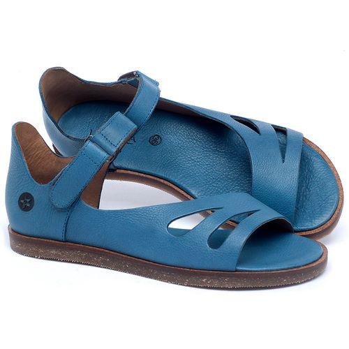 Laranja_Lima_Shoes_Sapatos_Femininos_Sandalia_Rasteira_Flat_em_Couro_Azul_-_Codigo_-_141016_1