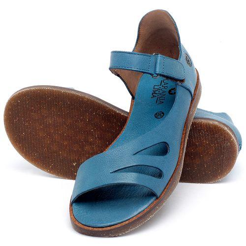 Laranja_Lima_Shoes_Sapatos_Femininos_Sandalia_Rasteira_Flat_em_Couro_Azul_-_Codigo_-_141016_2