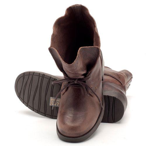 Laranja_Lima_Shoes_Sapatos_Femininos_Bota_Cano_Curto_Salto_de_2_cm_em_Couro_Cafe_-_Codigo_-_137031_2
