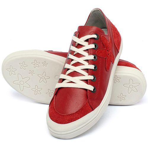 Laranja_Lima_Shoes_Sapatos_Femininos_Tenis_Cano_Baixo_em_Couro_Vermelho_-_Codigo_-_56214_2