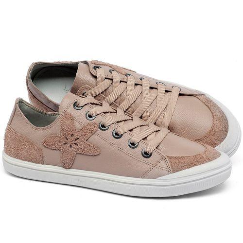 Laranja_Lima_Shoes_Sapatos_Femininos_Tenis_Cano_Baixo_em_Couro_Nude_-_Codigo_-_56214_1