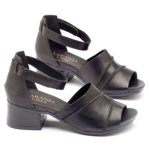 Laranja_Lima_Shoes_Sapatos_Femininos_Sandalia_Laranja_Lima_Shoes_Boho_em_Couro_Preto_-_Codigo_-_137079_1