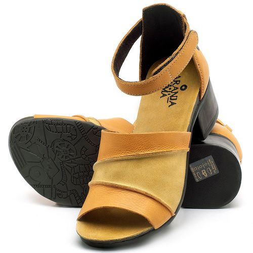 Laranja_Lima_Shoes_Sapatos_Femininos_Sandalia_Laranja_Lima_Shoes_Boho_em_Couro_Amarelo_-_Codigo_-_137079_2