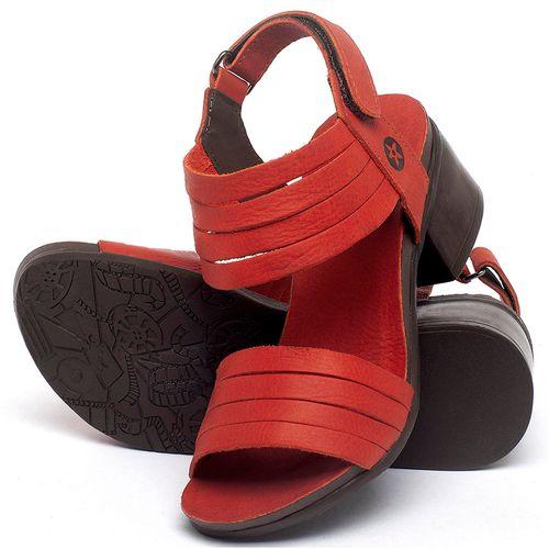 Laranja_Lima_Shoes_Sapatos_Femininos_Sandalia_Laranja_Lima_Shoes_Boho_Salto_de_5_cm_em_Couro_Vermelho_-_Codigo_-_137141_2