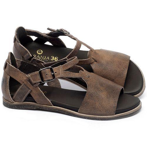 Laranja_Lima_Shoes_Sapatos_Femininos_Sandalia_Rasteira_Flat_em_Couro_Marrom_-_Codigo_-_137187_1