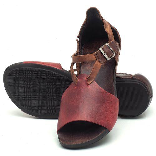Laranja_Lima_Shoes_Sapatos_Femininos_Sandalia_Rasteira_Flat_em_Couro_Vinho_-_Codigo_-_137187_2