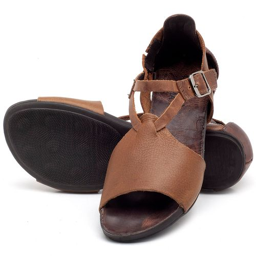 Laranja_Lima_Shoes_Sapatos_Femininos_Sandalia_Rasteira_Flat_em_Couro_Marrom_-_Codigo_-_137187_2