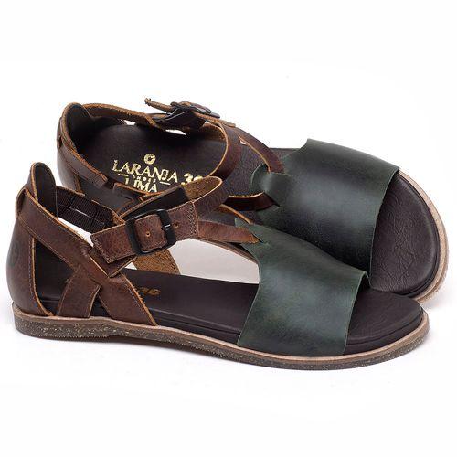 Laranja_Lima_Shoes_Sapatos_Femininos_Sandalia_Rasteira_Flat_em_Couro_Verde_-_Codigo_-_137187_1
