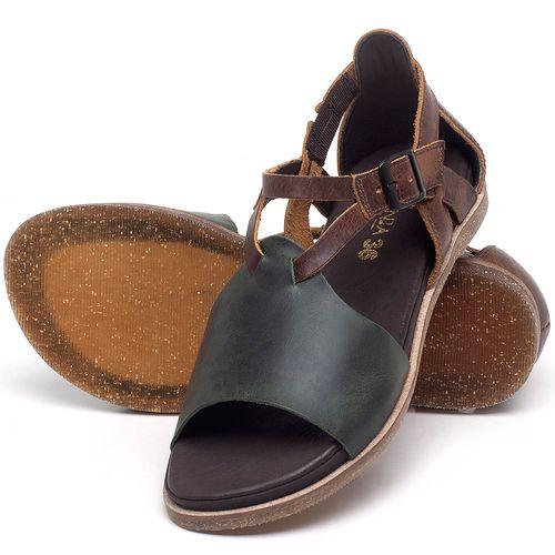 Laranja_Lima_Shoes_Sapatos_Femininos_Sandalia_Rasteira_Flat_em_Couro_Verde_-_Codigo_-_137187_2