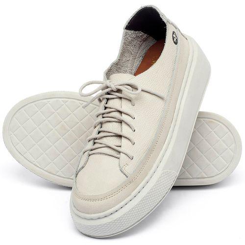 Laranja_Lima_Shoes_Sapatos_Femininos_Tenis_Cano_Baixo_em_Couro_Off-White_-_Codigo_-_137282_2