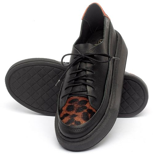 Laranja_Lima_Shoes_Sapatos_Femininos_Tenis_Cano_Baixo_em_Couro_Preto_-_Codigo_-_137282_2