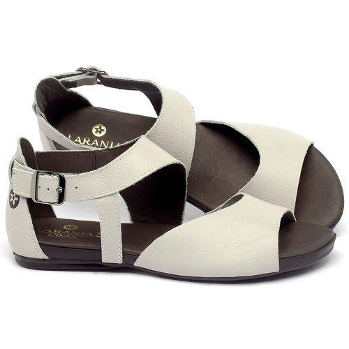 Laranja_Lima_Shoes_Sapatos_Femininos_Sandalia_Rasteira_Flat_em_Couro_Off-White_-_Codigo_-_137296_1