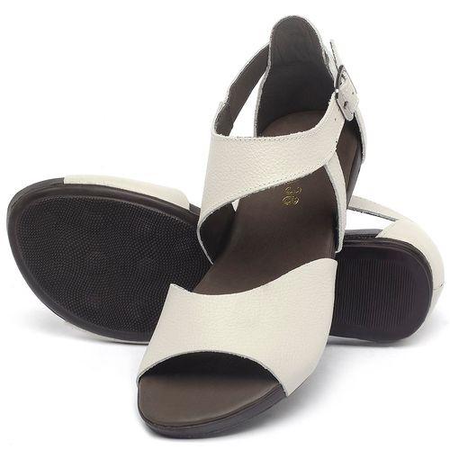 Laranja_Lima_Shoes_Sapatos_Femininos_Sandalia_Rasteira_Flat_em_Couro_Off-White_-_Codigo_-_137296_2