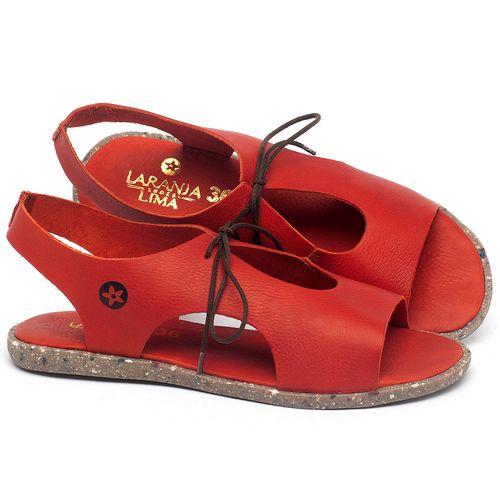 Laranja_Lima_Shoes_Sapatos_Femininos_Sandalia_Rasteira_Flat_em_Couro_Vermelho_-_Codigo_-_137312_1