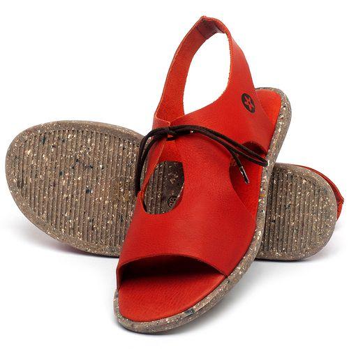 Laranja_Lima_Shoes_Sapatos_Femininos_Sandalia_Rasteira_Flat_em_Couro_Vermelho_-_Codigo_-_137312_2