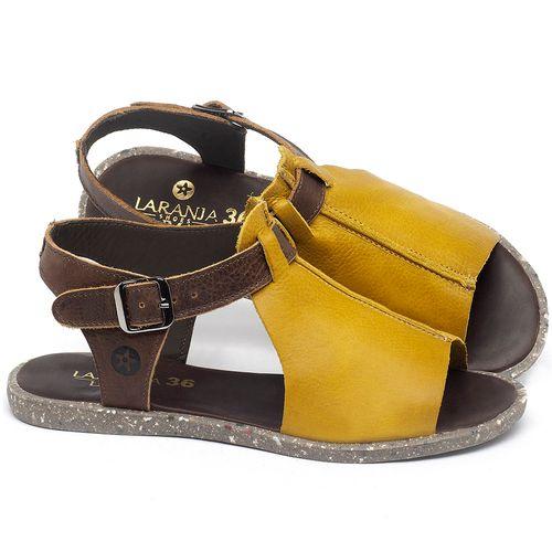 Laranja_Lima_Shoes_Sapatos_Femininos_Sandalia_Rasteira_Flat_em_Couro_Amarelo_-_Codigo_-_137314_1