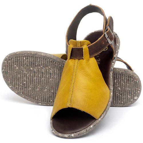 Laranja_Lima_Shoes_Sapatos_Femininos_Sandalia_Rasteira_Flat_em_Couro_Amarelo_-_Codigo_-_137314_2