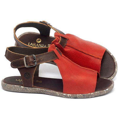 Laranja_Lima_Shoes_Sapatos_Femininos_Sandalia_Rasteira_Flat_em_Couro_Vermelho_-_Codigo_-_137314_1