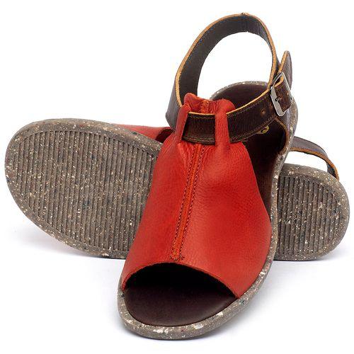 Laranja_Lima_Shoes_Sapatos_Femininos_Sandalia_Rasteira_Flat_em_Couro_Vermelho_-_Codigo_-_137314_2
