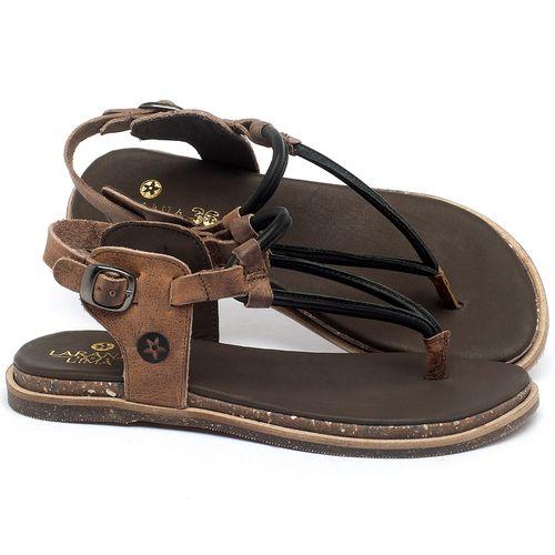 Laranja_Lima_Shoes_Sapatos_Femininos_Sandalia_Rasteira_Flat_em_Couro_Preto_-_Codigo_-_137299_1