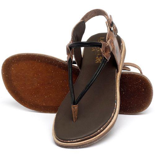 Laranja_Lima_Shoes_Sapatos_Femininos_Sandalia_Rasteira_Flat_em_Couro_Preto_-_Codigo_-_137299_2