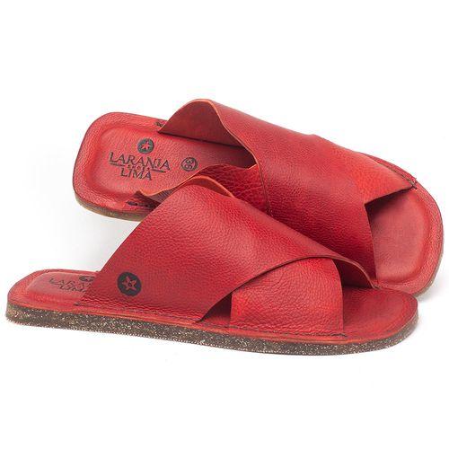Laranja_Lima_Shoes_Sapatos_Femininos_Sandalia_Rasteira_Flat_em_Couro_Vermelho_-_Codigo_-_141155_1