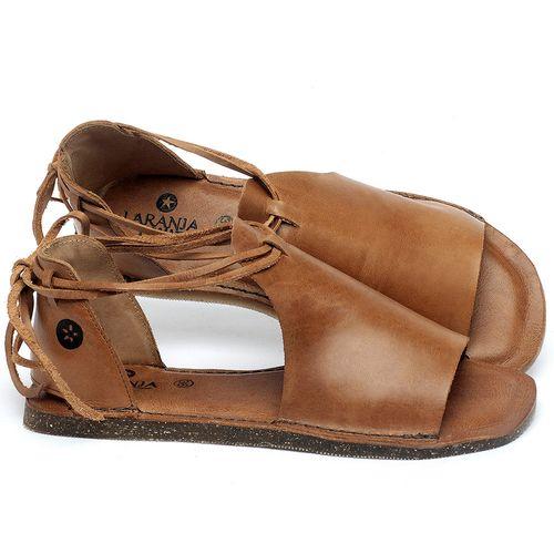 Laranja_Lima_Shoes_Sapatos_Femininos_Sandalia_Rasteira_Flat_em_Couro_Caramelo_-_Codigo_-_141164_1