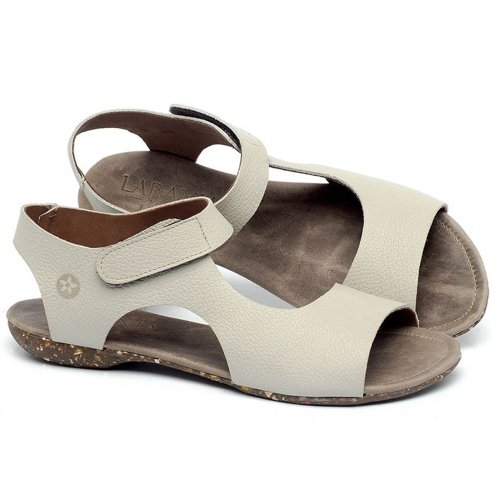 Laranja_Lima_Shoes_Sapatos_Femininos_Sandalia_Rasteira_Flat_em_Couro_Off-White_-_Codigo_-_148026_1