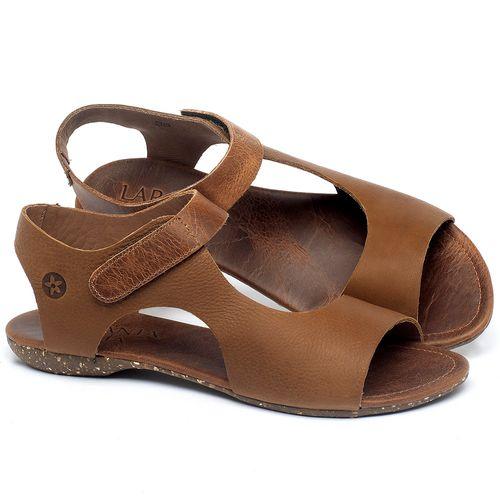 Laranja_Lima_Shoes_Sapatos_Femininos_Sandalia_Rasteira_Flat_em_Couro_Caramelo_-_Codigo_-_148026_1