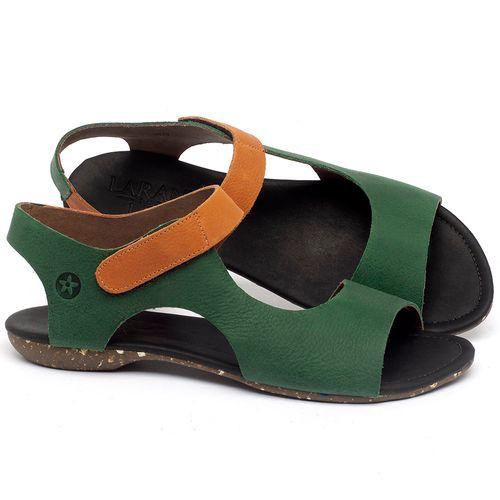 Laranja_Lima_Shoes_Sapatos_Femininos_Sandalia_Rasteira_Flat_em_Couro_Verde_-_Codigo_-_148026_1