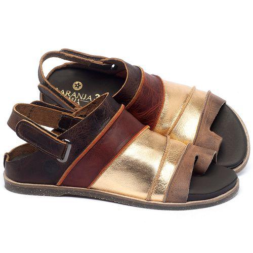 Laranja_Lima_Shoes_Sapatos_Femininos_Sandalia_Rasteira_Flat_em_Couro_Metalizado_-_Codigo_-_137185_1