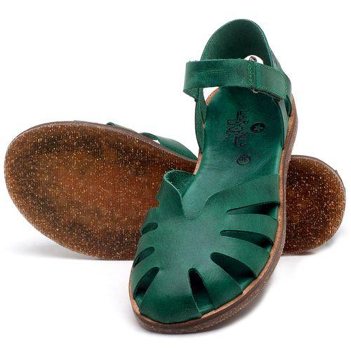 Laranja_Lima_Shoes_Sapatos_Femininos_Sandalia_Rasteira_Flat_em_Couro_Verde_-_Codigo_-_141017_2