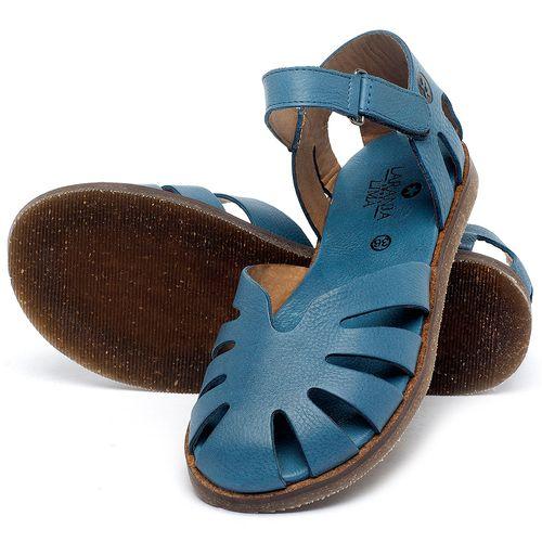 Laranja_Lima_Shoes_Sapatos_Femininos_Sandalia_Rasteira_Flat_em_Couro_Azul_-_Codigo_-_141017_2
