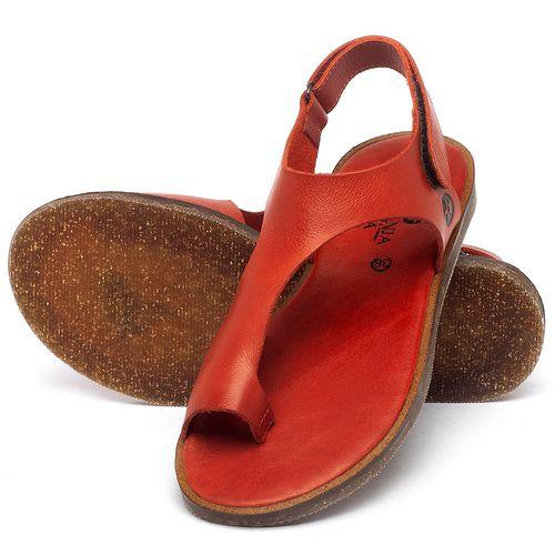 Laranja_Lima_Shoes_Sapatos_Femininos_Sandalia_Rasteira_Flat_em_Couro_Vermelho_-_Codigo_-_141102_2
