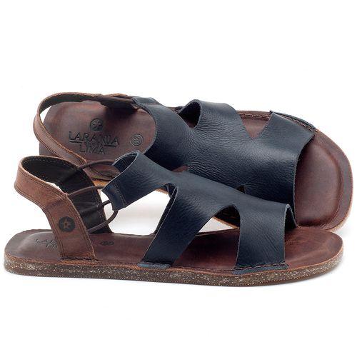 Laranja_Lima_Shoes_Sapatos_Femininos_Sandalia_Rasteira_Flat_em_Couro_Marinho_-_Codigo_-_141110_1