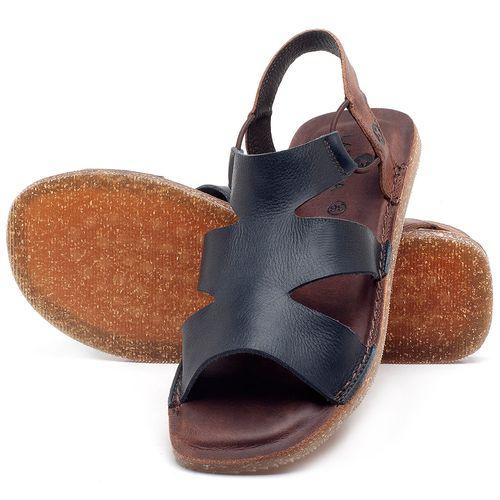 Laranja_Lima_Shoes_Sapatos_Femininos_Sandalia_Rasteira_Flat_em_Couro_Marinho_-_Codigo_-_141110_2