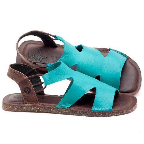 Laranja_Lima_Shoes_Sapatos_Femininos_Sandalia_Rasteira_Flat_em_Couro_Azul_-_Codigo_-_141110_1