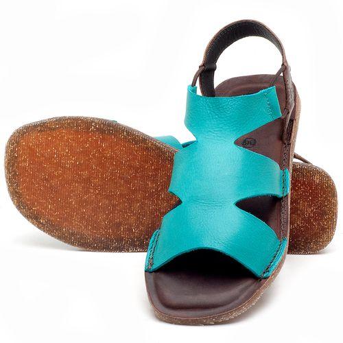 Laranja_Lima_Shoes_Sapatos_Femininos_Sandalia_Rasteira_Flat_em_Couro_Azul_-_Codigo_-_141110_2