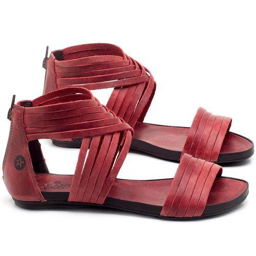 Laranja_Lima_Shoes_Sapatos_Femininos_Sandalia_Rasteira_Flat_em_Couro_Vermelho_-_Codigo_-_137189_1