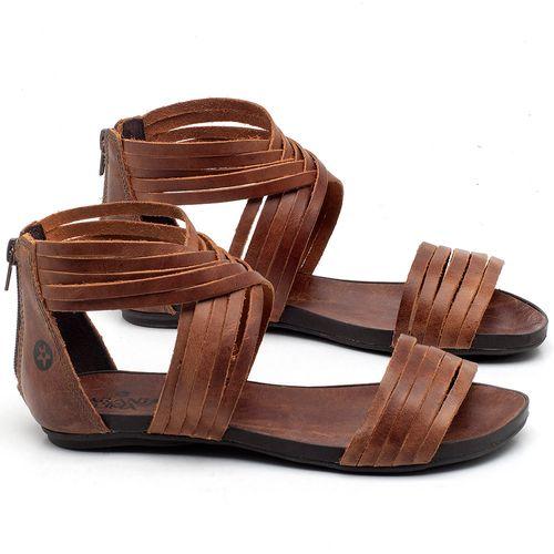 Laranja_Lima_Shoes_Sapatos_Femininos_Sandalia_Rasteira_Flat_em_Couro_Marrom_-_Codigo_-_137189_1