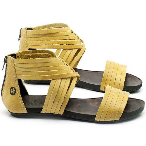Laranja_Lima_Shoes_Sapatos_Femininos_Sandalia_Rasteira_Flat_em_Couro_Amarelo_-_Codigo_-_137189_1