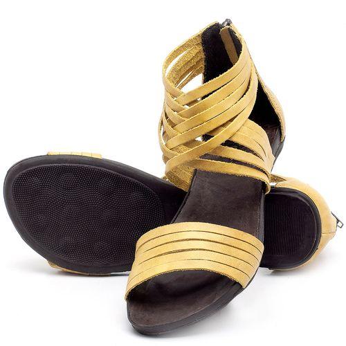 Laranja_Lima_Shoes_Sapatos_Femininos_Sandalia_Rasteira_Flat_em_Couro_Amarelo_-_Codigo_-_137189_2