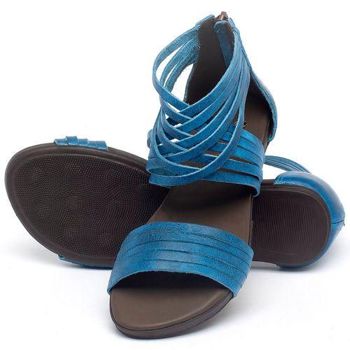 Laranja_Lima_Shoes_Sapatos_Femininos_Sandalia_Rasteira_Flat_em_Couro_Azul_-_Codigo_-_137189_2