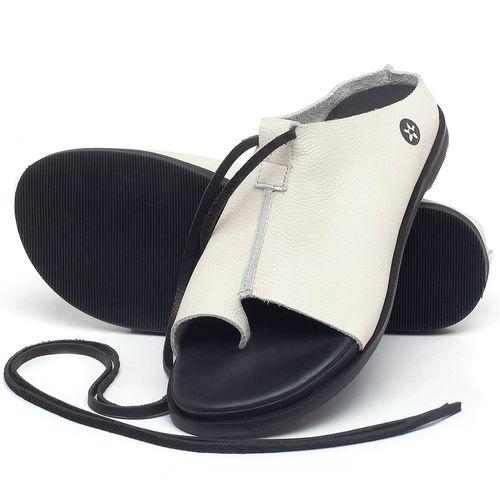 Laranja_Lima_Shoes_Sapatos_Femininos_Sandalia_Rasteira_Flat_em_Couro_Off-White_-_Codigo_-_137200_2