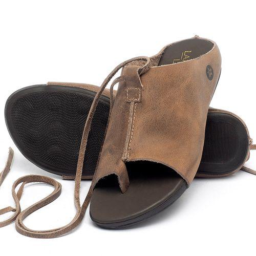 Laranja_Lima_Shoes_Sapatos_Femininos_Sandalia_Rasteira_Flat_em_Couro_Marrom_-_Codigo_-_137200_2