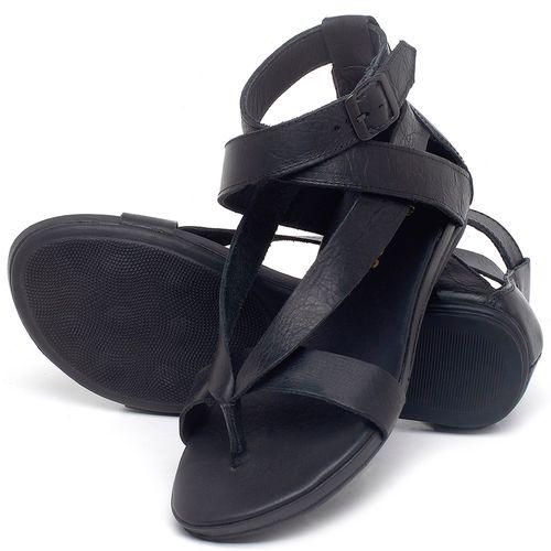 Laranja_Lima_Shoes_Sapatos_Femininos_Sandalia_Rasteira_Flat_em_Couro_Preto_-_Codigo_-_137289_2
