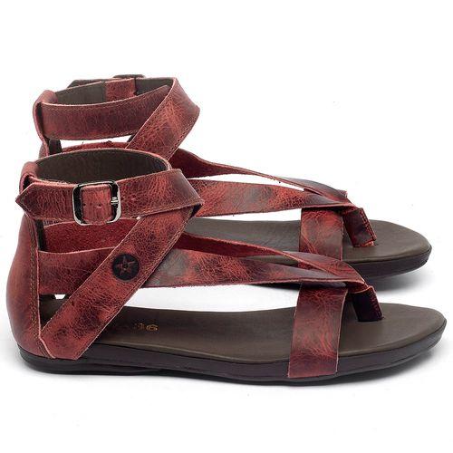 Laranja_Lima_Shoes_Sapatos_Femininos_Sandalia_Rasteira_Flat_em_Couro_Vermelho_-_Codigo_-_137289_1