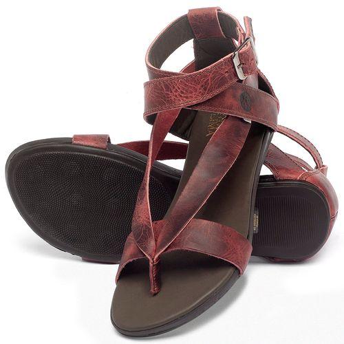 Laranja_Lima_Shoes_Sapatos_Femininos_Sandalia_Rasteira_Flat_em_Couro_Vermelho_-_Codigo_-_137289_2