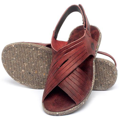 Laranja_Lima_Shoes_Sapatos_Femininos_Sandalia_Rasteira_Flat_em_Couro_Vermelho_-_Codigo_-_137311_2
